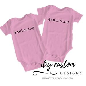 Twins Baby Outfits Twinning Coming Home Outfit Baby Shower Gift