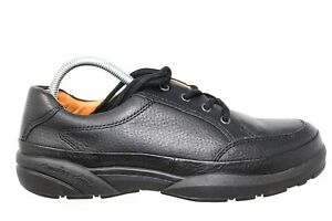 Dr-Comfort-Justin-Black-Leather-Casual-Lace-Up-Oxford-Shoes-Mens-8W