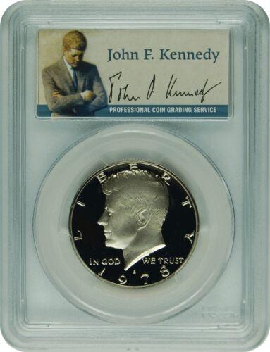 1978-S PCGS PR69DCAM Kennedy  Half Dollar PRESIDENTIAL LABEL