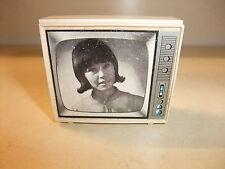 Puppenstube Kaufmannsladen Accessories alter Fernseher Fernsehen Fernsehgerät