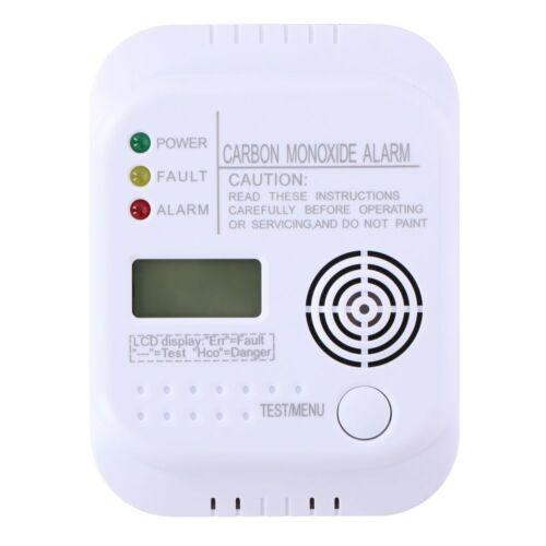 Grundig Rilevatore di monossido di carbonio en50291 BATTERIA 85 DB CO Allarme schermo LCD