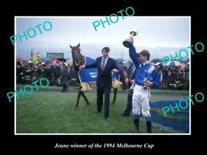 8x6-HISTORIC-HORSE-RACING-PHOTO-OF-JEUNE-1994-MELBOURNE-CUP-WINNER
