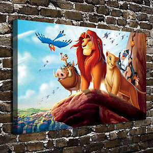 Details About Disney The Lion King Paintings Hd Print On Canvas Home Decor Wall Art Pictures