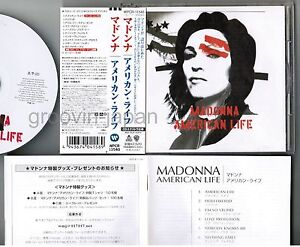 MADONNA-American-Life-JAPAN-CD-WPCR-11540-1st-issue-w-OBI-BOOKLET-Free-S-amp-H-P-amp-P