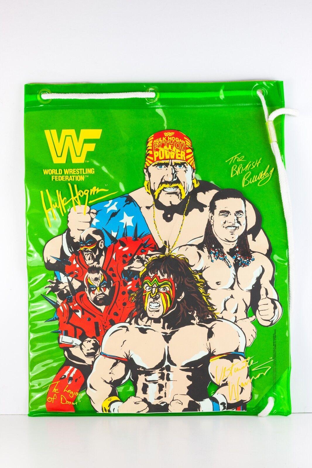 WWF Hulk Hogan Wrestling recuerdos Bolsa Vintage Marvel 1991 TitanDeporte 17