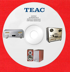 Details about Teac Audio Repair Service owner manuals on 1 dvd in pdf format