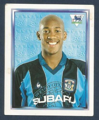 MERLIN 1998-PREMIER LEAGUE 98 #167-COVENTRY-MANCHESTER UNITED-DION DUBLIN