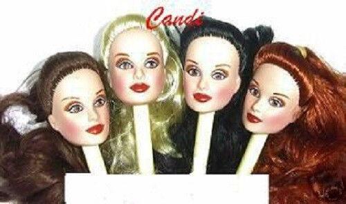 "Fashion Doll HEAD Israeli BLACK Fits 11.5"" Barbie Fashion Royalty"