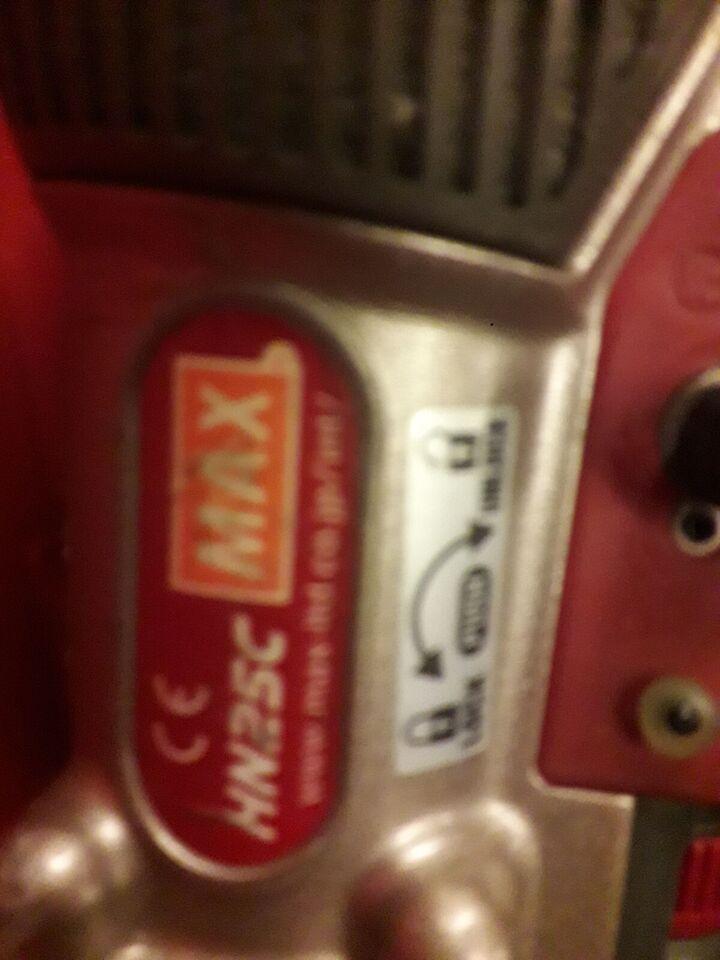 Hn25c 19mm-35mm pistol, Max