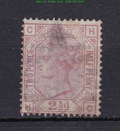 1876 Great Britain Queen Victoria Sc #67 Plate 5 USED~