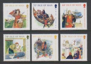 Ile-de-Man-2008-Viking-Age-Ensemble-MNH-Sg-1412-17