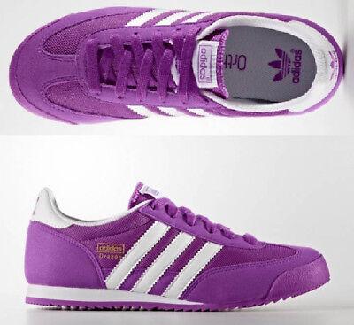 ADIDAS Originals DRAGON Damen Mädchen Sneaker Sport Schuhe Shoes Lila 36 38   eBay