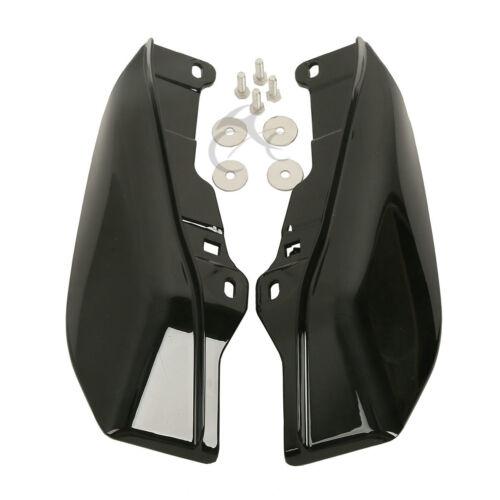 Black Mid-Frame Air Deflectors For Harley Road King Electra Street Glide 09-16