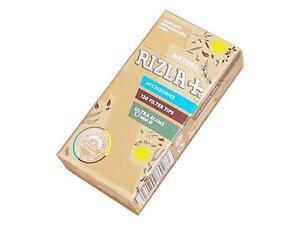 Rizla-NATURA-UltraSlims-Filter-5-7mm-biodegradable-brown-paper-1-2-5-10-20-pcs