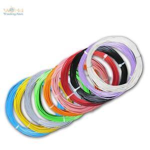 0,28 €//m 04mm² dekoderlitze lütze Câble 10m toron Flex Blanc 0,5mm//0