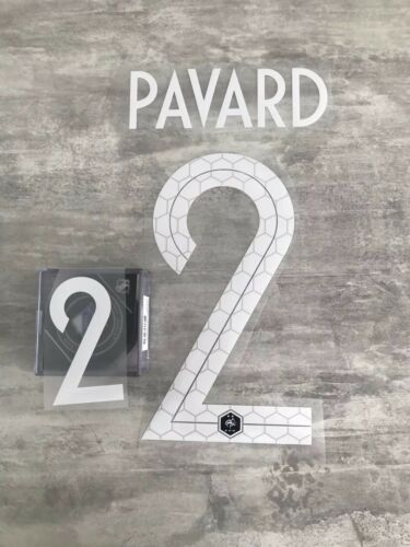 Flocage équipe de FRANCE  Pavard 2 ⭐️⭐️ Domicile Livraison Fast