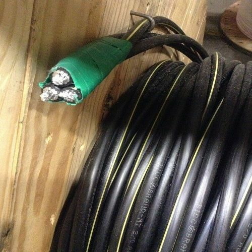 175/' Vassar 4-4-4 Triplex Aluminum URD Cable Secondary Distribution Wire 600V