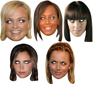 Ladies-Spice-Girls-Posh-Scary-Sporty-Ginger-Baby-Fancy-Dress-Costume-Masks