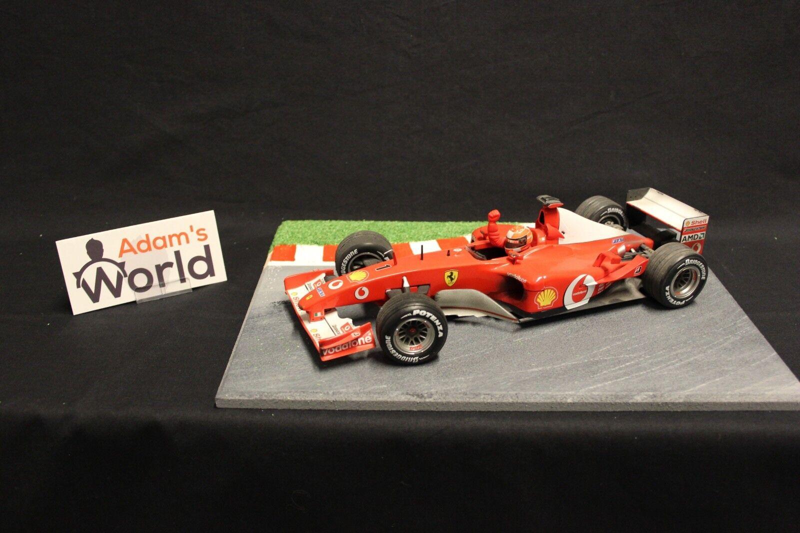 Hot Wheels Ferrari F2002 2002 1 18 Michael Schumacher (GER) (F1NB) WC