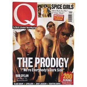 Q Magazine Prodigy Bob Dylan Black Grape Levellers John Lennon 1997 December
