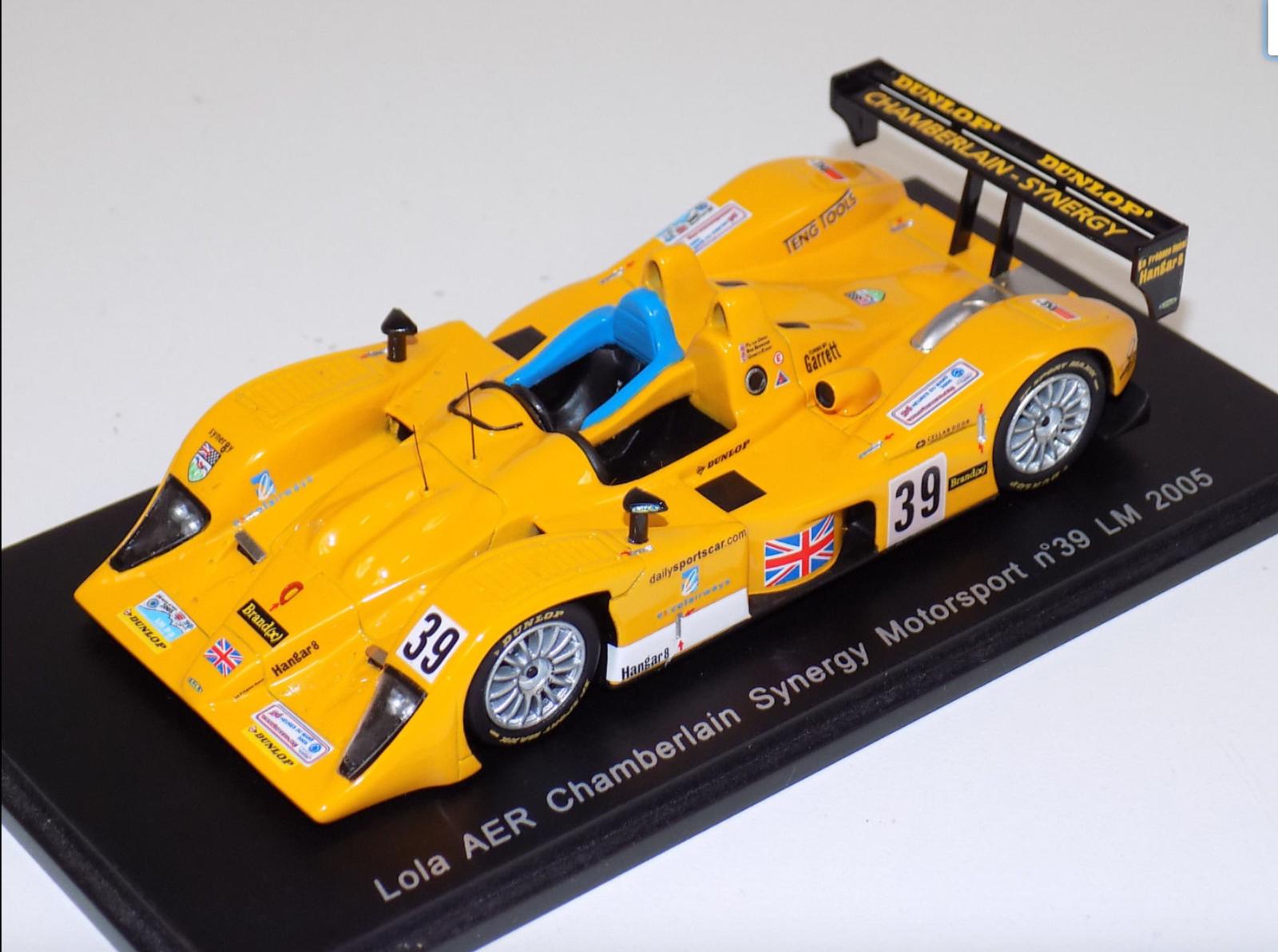 1/43 Spark Models Lola AER coche 39 24 horas de LeMans S0034