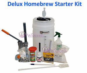 Brew Wizard Deluxe Brewing kits, all things make you need for making good beer!