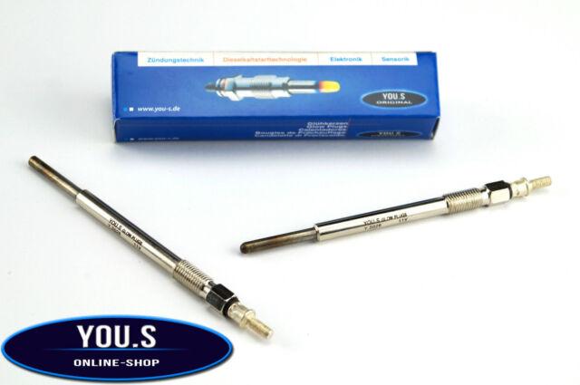 4 Piece You.S Original Glow Plugs Citroen C2 C3 50 Kw 68 HP 80 Kw 109 HP 02-09