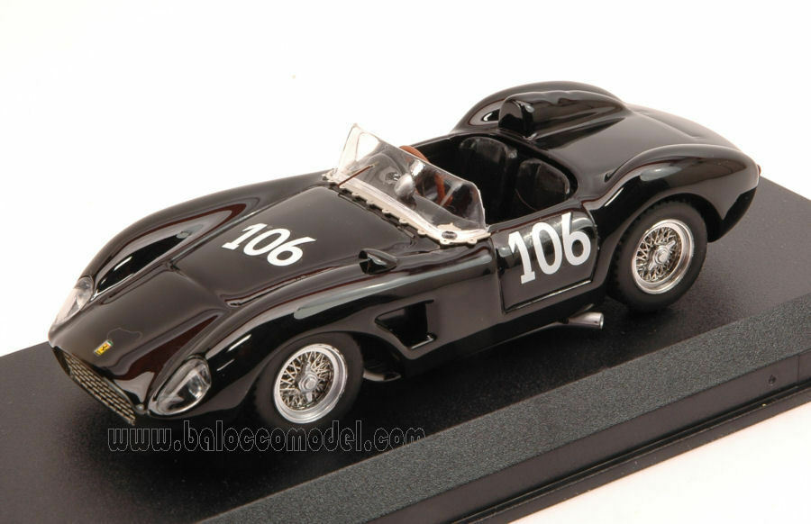 Ferrari 500 Mondial  106 9th Nassau 1959 A. Markelson 1 43 Model 0333 ART-MODEL