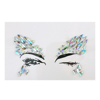 Chunky Gems Glitter Pot-Nail Face Eye Body Tattoo Festival Dance Cosmetic Club