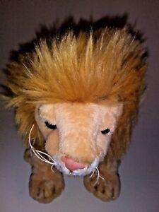 Rinco-Brown-Lion-Cat-8-034-Plush-Stuffed-Animal