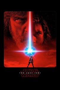 STAR WARS THE LAST JEDI POSTER FILM A4 A3 CINEMA MOVIE PRINT ART