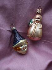 Vintage Christmas Tree Ornament Baby Child Blown Glass W. Germany Czechoslovakia