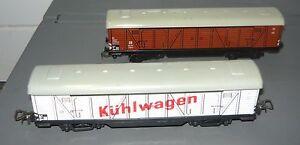 Konrad-Dressler-Nbg-Konvolut-2-Gueterwagen-der-DB-H0-gebraucht-OHNE-OVP