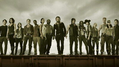 "Season 10 Zombie Blood Hot TV Series 40/""x14/"" Poster 370 The Walking Dead"