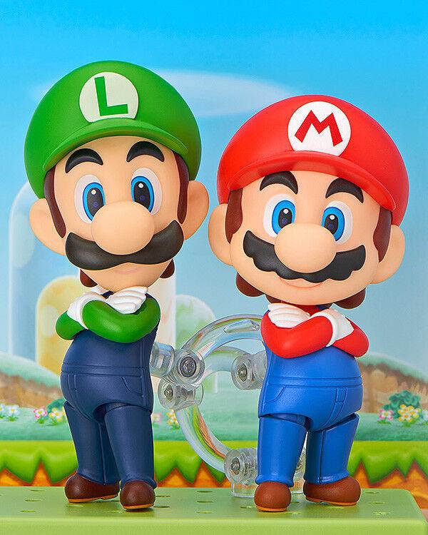 NENDoroID súper Mario Bros Mario Y Luigi Set Figuras De Acción