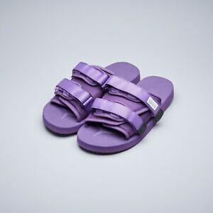 2069420aca07 Suicoke SS19 OG-056Cab   MOTO-Cab Purple Nylon Antibacterial Sandals ...