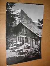 Grindelwald 1958 Restaurant Aellfluh schöne Ansicht