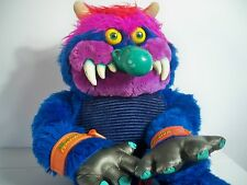 K166688 MY PET MONSTER W/ CUFFS 100% COMPLETE ORIGINAL STUFFED ANIMAL