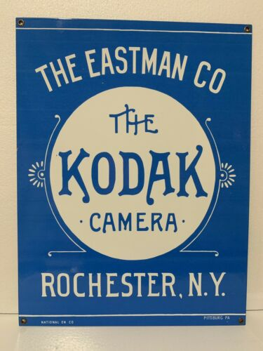 Kodak Camera 18 Inch vintage style Porcelain Sign