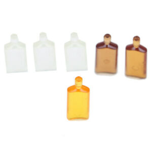 6Pcs-1-12-Dollhouse-miniature-wine-bottles-model-doll-kitchen-decor-giftJ-e