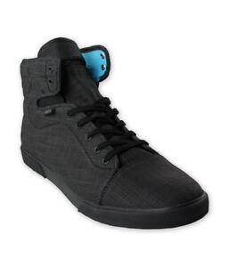 216fc4c343 VANS Hadley (Menswear) Black Blue Atoll Sk8 Hi Suede Shoes WOMEN S ...