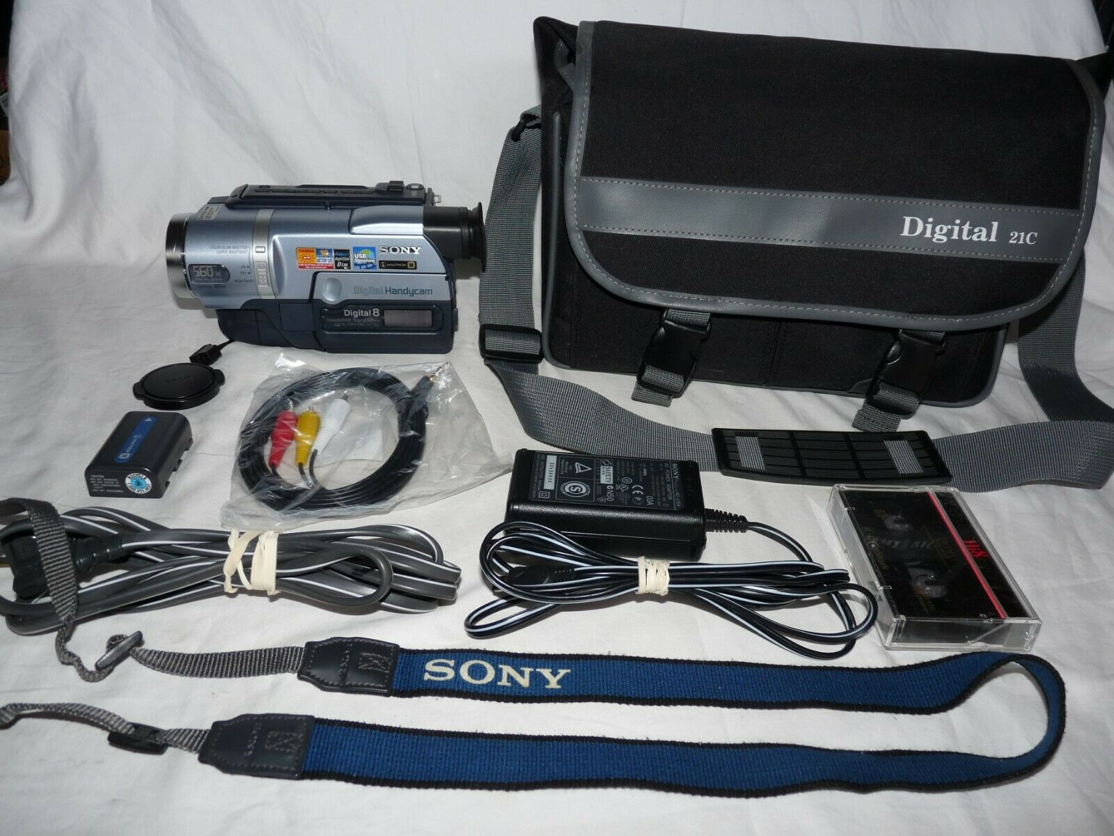 s l1600 - Sony DCR-TRV140 Digital8 Digital 8 Camcorder VCR Player Camera Video Transfer