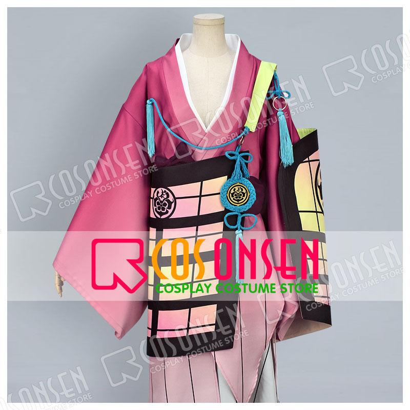 new Hot Webgame Touken Ranbu Souza Samonji Cosplay Costume All Size custom made