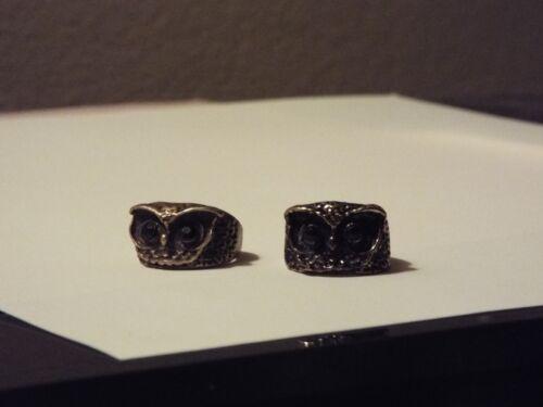 Owl Face Rings