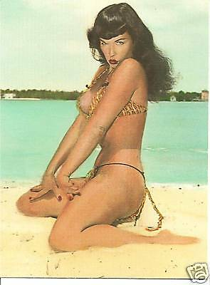 Bettie Page Huge Wall Art Poster Picture Print Wall Mural 33x47 Inches