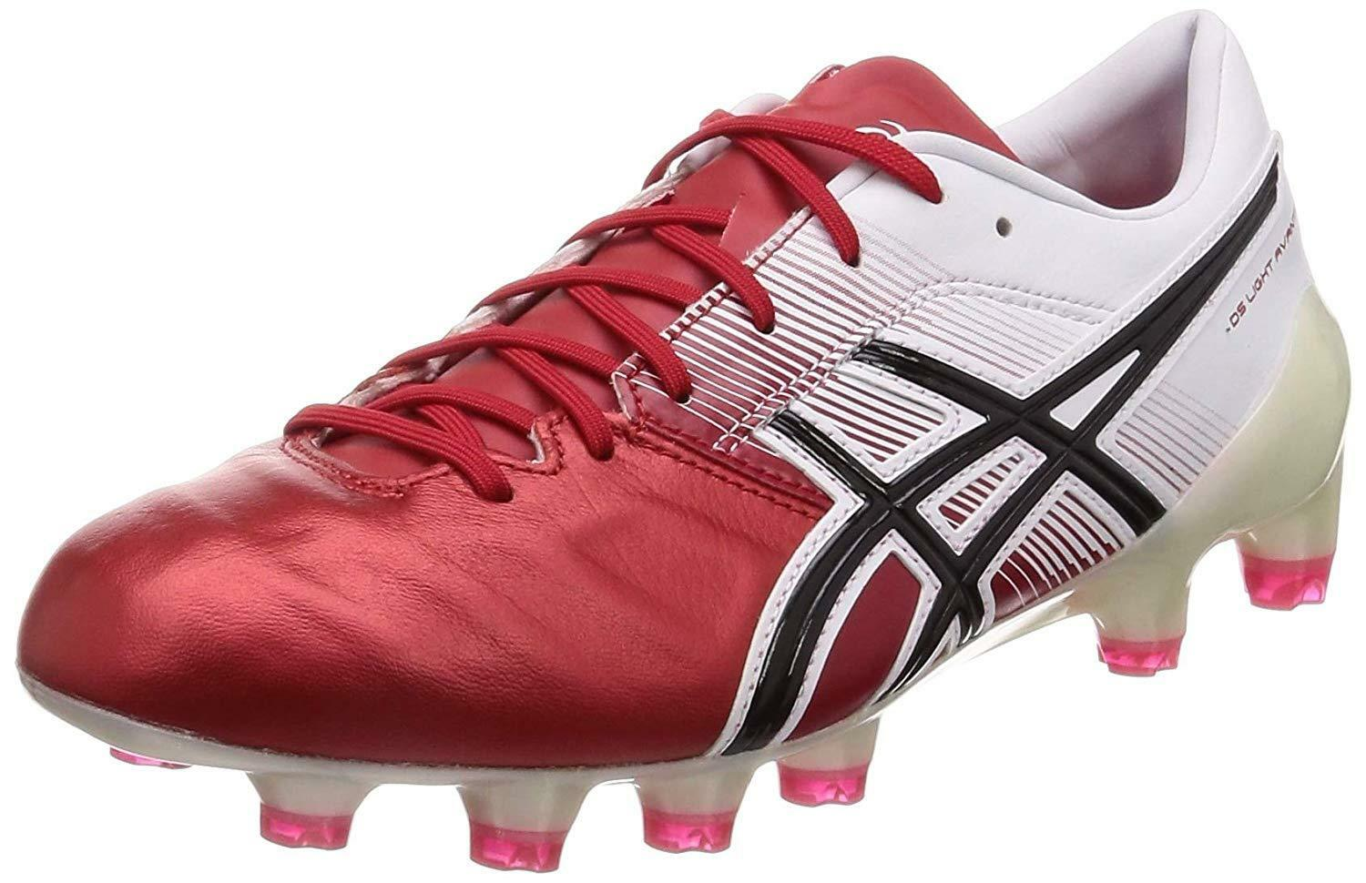 Zapatos de fútbol de Spike Asics DS Light Avante 1101A009 Rojo US10 (28cm)