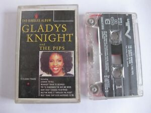 Gladys-Knight-amp-The-Pips-The-Singles-Album-Cassette-Tape-FREE-P-amp-P