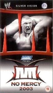 WWE No Mercy 2003 DVD orig WWF wrestling - Bruchsal, Deutschland - WWE No Mercy 2003 DVD orig WWF wrestling - Bruchsal, Deutschland