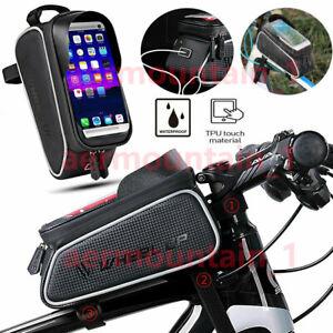Fahrradtasche Wasserdicht Rahmentasche Oberrohrtasche 6,0/'/' Handyhalter
