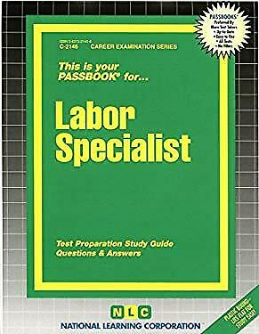 Labor Specialist by National Learning Corporation-ExLibrary